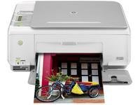 HP Photosmart C3180 All-in-One: Kopierer/Drucker/scanner, Color Inkjet Kopie (bis Ã): 22 ppm (mono)/20 ppm (Farbe) bis (Druck): 22 Ã ppm (mono)/20 ppm (Farbe), USB, 100 Blatt -