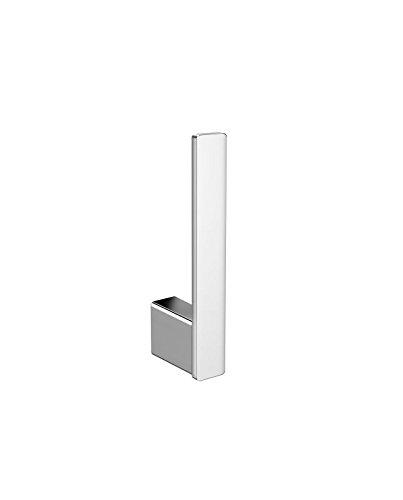 Emco Loft Reserverollenhalter (Farbe Chrom, Höhe 170 mm, für 1 Toilettenpapierrolle, Rollenhalter) 50500101, Normal