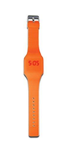 DCI On Time LED Watch - Orange -