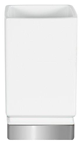 Spirella Roma Verre-Porcelaine-Blanc/Argent