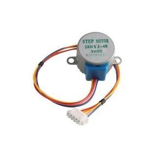 STEPPER MOTOR, 512 STEP, 5VDC BPSCA 858 - MC02058 By ADAFRUIT INDUSTRIES