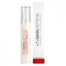 Skinception Illuminatural 6i - 50ml   Creme zur Hautaufhellung   Gegen Pigmentstörungen und dunkle Flecken   Für ein makelloses Hautbild   Zarte und reine Haut   Bei Sonnenflecken und Sommersprossen