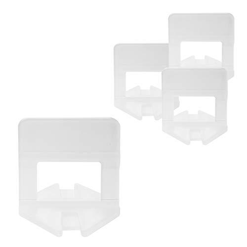 Lantelme - Tiras de sujeción para azulejos, 1 a 3 mm, 1000 unidades
