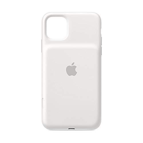 Apple Smart Battery Case con Ricarica Wireless (per iPhone 11 Pro Max), Bianco
