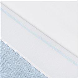 Little Naturals 008-511-64981 Drap, 75 x 100 cm, crochet Small Bleu