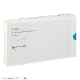 Brava Elastische (BRAVA ELAST FIXIERSTREIFEN, 20 St)