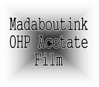 A4 OHP Acetate Transparency Film For Inkjet Printers 10 Sheets