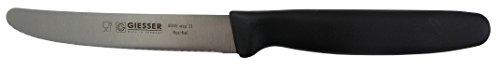 Giesser - Cuchillo multiusos profesional con filo ondulado (11 cm)