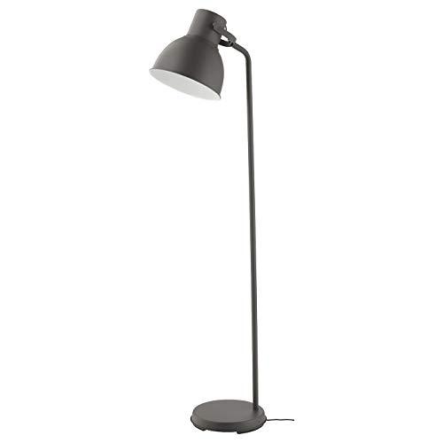 IKEA HEKTAR Standleuchte, dunkelgrau, 181 cm hoch, 002.153.07