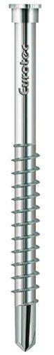 EUROTEC terrassotec vis en acier inoxydable v4A, blank, 5,5 x 60 mm-lot de 100