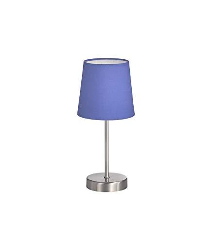 Dieser Artikel ist für E14 Leuchtmittel aller Energieeffizienzklassen geeignet. CESENA Tischleuchte 1-flammig, Metall, Schirm (matt): Marineblau, 32