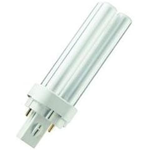 Crompton 18 W baraúnda (2 pin) G24d -1 Base fluorescente - blanco