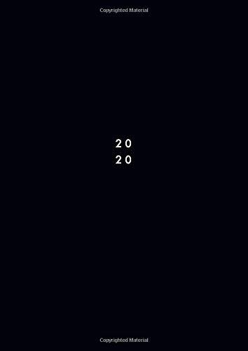 2020: Agenda 2020 giornaliera 2 pagine per