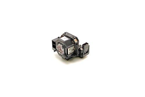Lampada Alda PQ per proiettore EPSON CINEMA 700, EB-S6, EB-S62, EB-S6LU, EB-W6, EB-X6, EB-X62, EB-X6LU, EH-TW420, EMP-S5, EMP-X5, EMP-X52, EMP-X5E, EMP-260, EMP77C, EMP-S6, EMP-X6, EX21, EX30, EX50, EX70, PowerLite: 77c, 78, S5, S6, W6, HC 700, H283A, H283B, H284A lampada con custodia
