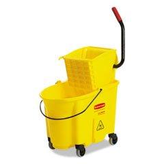 Newell Rubbermaid WaveBrake Bucket/Wringer Kombination Gelb zu wischen Eimer und Auswringer Combo-Pack -