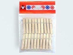 Preisvergleich Produktbild 20 Wäscheklammern Holz