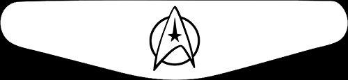 Preisvergleich Produktbild Play Station PS4 Lightbar Sticker Aufkleber Star Trek (weiß)