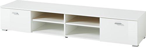 Germania 3666-84 Lowboard Holz, weiß