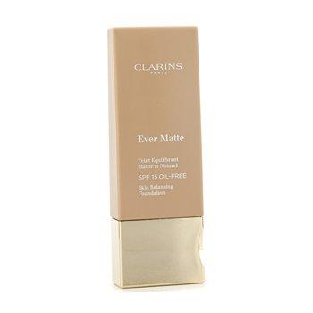 Clarins Ever Matte Skin Balancing Oil Free Foundation SPF 15 - # 113 Chestnut 30ml/1.1oz - Make-up