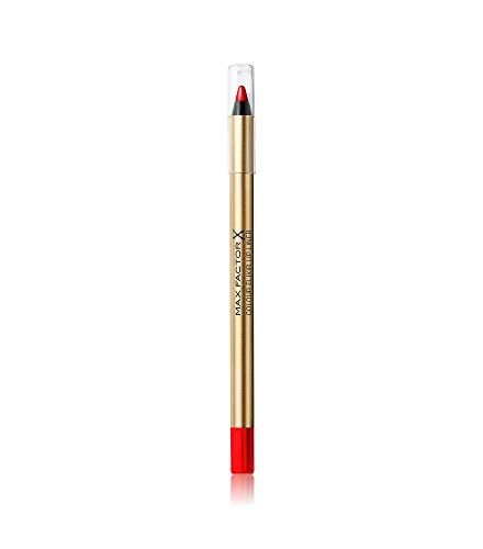 Max Factor Colour Elixir Lip Liner 10 Red Rush, 1er Pack (1 x 1 ml)