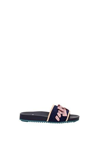 Slippers-and-clogs-Fendi-Women-Fabric-8X6517ODD-UK