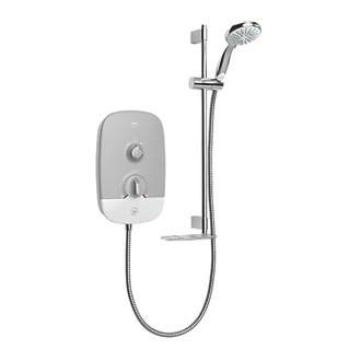 Mira Play 10.8kw White/Grey Electric Shower 1.1895.003 Best Price and Cheapest