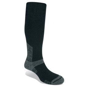 BRIDGEDALE Men 's summit-chaussettes in knalligen Wolle Wool Fusion schwarz schwarz Size, schwarz (Fusion Wolle)