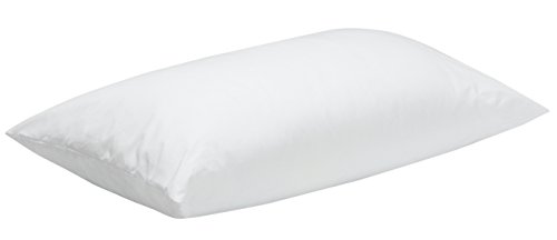 Pikolin Home - Almohada de fibra, antiácaros, funda 100 % algodón, firmeza media, 40x60cm, altura...