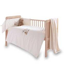 Clair de Lune-Juego de ropa para como un botón 3pc Nursery Juego de ropa de cama.