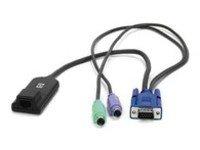 Cat5-kvm-hp (HP Hewlett Packard Enterprise Kvm CAT51-Pack PS/2Interface Adapter)