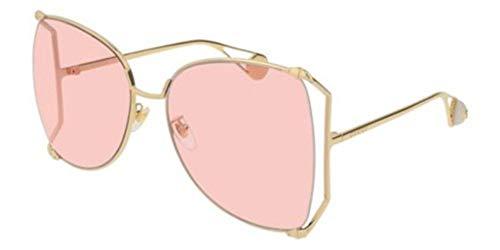 Sonnenbrillen Gucci GG0252S GOLD/PINK Damenbrillen