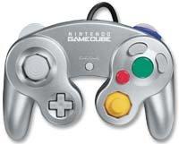 GameCube - Controller Platin Silber