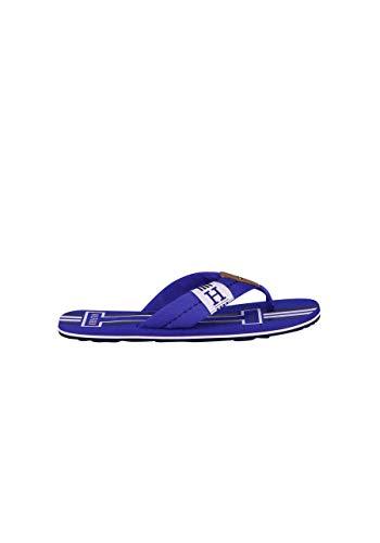 Tommy Hilfiger Flip Flop Riemen Logo-Detail dunkelblau Größe 45