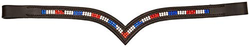 Reihen * Team GB * Kristall Stirnband braun Full/COB (COB 38,1cm) ()