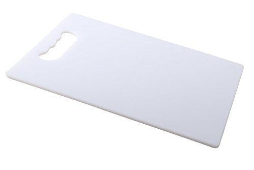 Kuber Industries™ Eco-Friendly Chopping Cutting Board with Handle, 40 X 25cm (White) Large Size  available at amazon for Rs.399