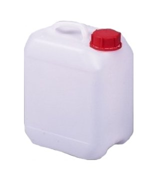 3 Liter Euroform Kunststoff Kanister incl. Verschluss - 3 Kanister