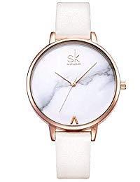 shengke señoras Reloj de Pulsera Creativas Mujeres Relojes Marca Reloj Mujeres Malla Vestido Reloj k0039l