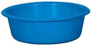 ALUMINIUM ET PLASTIQ Cuvette Ronde, 32 x 11 cm, 5 L Bleu