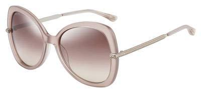 Jimmy Choo Sonnenbrillen (CRUZ-G-S FWMNQ) geräuchert rosa - silber - pflaumenfarben verlaufend mit verspiegelt effekt