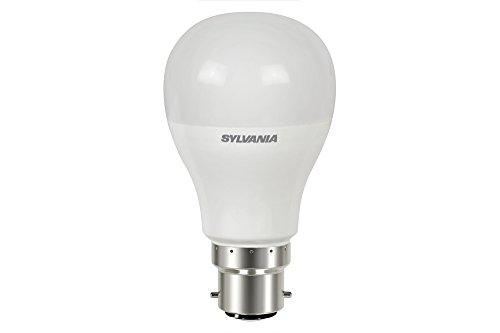 Sylvania SYL0026675 Toledo Ampoule Aluminium 8,5 W B22 Blanc