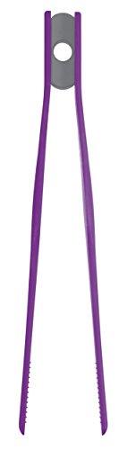 Colourworks  Silikon-Küchenzange, 26,5 cm – Violett