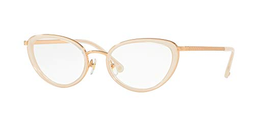 Ray-Ban Damen 0VE1258 Brillengestelle, (Sand/Pink Gold), 52
