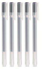 MUJI 0,5mm Gel Ink Pen Set–Schwarz (5Stück)