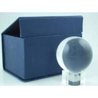 Bola de Cristal 50mm con Soporte de Cristal