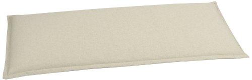 GO-DE 2940-11 Bankauflage 2 Sitzer, circa 115 x 48 x 6 cm, beige uni