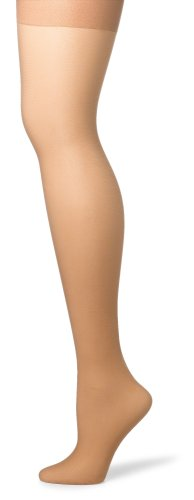 Hanes Silk Reflections Women's Silky Sheer Control Top Sandalfoot Hosiery (Pack of 3) -