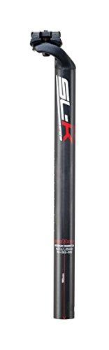 FSA Unisex SL-k Carbon DI2Sowie SBS SB20GD V15Sattelstütze, Schwarz, 31,6mm (Sattelstütze Slk)