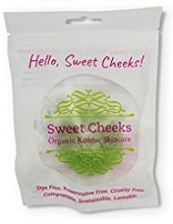 Sweet Cheeks Organic Konjac Skin Polisher for Face and Body Buy Today Get Pure Free (Aloe)