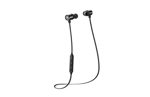 Motorola VerveLoop200 - Kabelloser In-Ear-Kopfhörer - IP54 - Alexa, Siri, Google Assistant - Schwarz (Motorola-handys An&t)