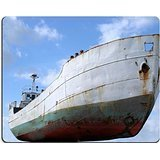 MSD Natural Rubber Gaming Mousepad IMAGE ID: 736061 a cargo cut on bottom of cloud seeming floated in airs Cargo-naturals